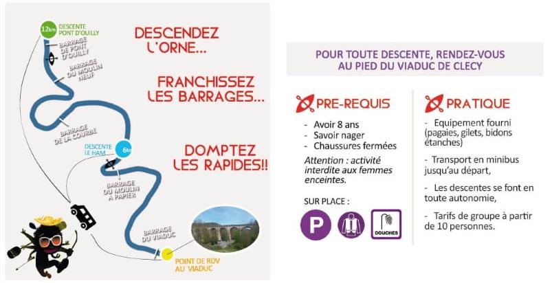 Carte Bleue Kayak.Canoe Kayak En Normandie Capa Venture